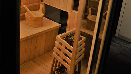 Spa, sauna, jacuzzi chez O'cil belle que douce
