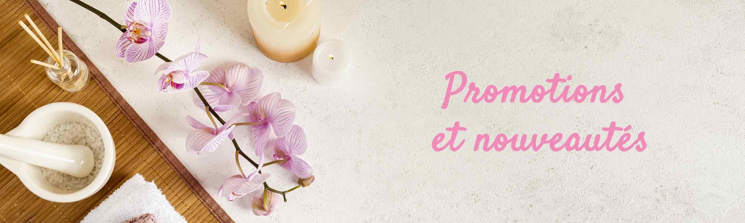 Promotions et nouveautés, spa Angers Maine et Loire